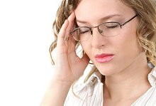 Therapies & About Me. Library Image: Woman Headache
