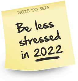 Feel Less Stressed 2017